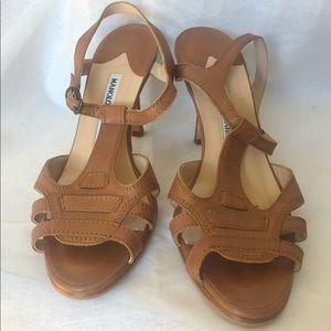 Manolo Blahnik Brown sandals